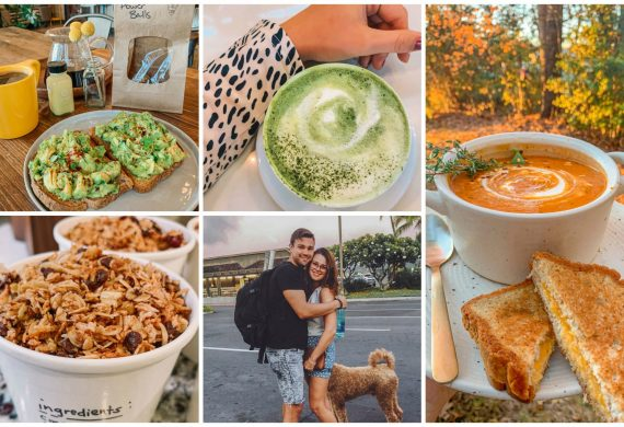 weekly recap post, tomato soup, matcha latte, avocado toast, gluten free, homemade granola, delicious, weekly, reap, healthy lifestyle, what I did this week, cooking at home, fall, winter, December, november