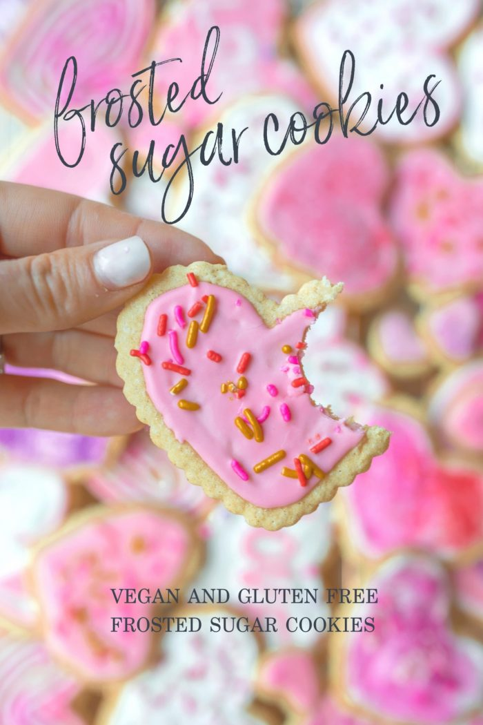 Vegan and Gluten-Free Frosted Sugar Cookies Easy Cutouts