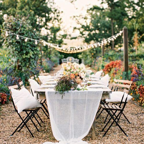 Moss Mountain Farms // Garden Style Wedding