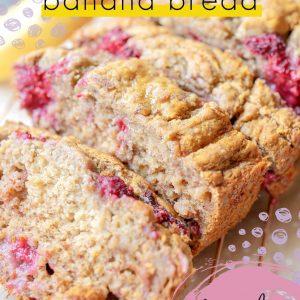 healthy banana bread, gluten free, raspberry, gluten free light banana bread, gluten free breakfast, dessert, dairy free