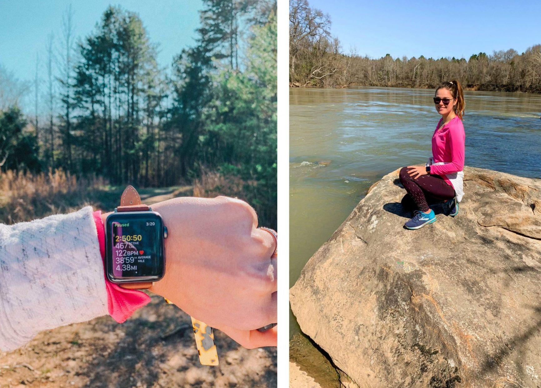trail walking, masons trail, masons bend, trail morning, fitness, walking, South Carolina