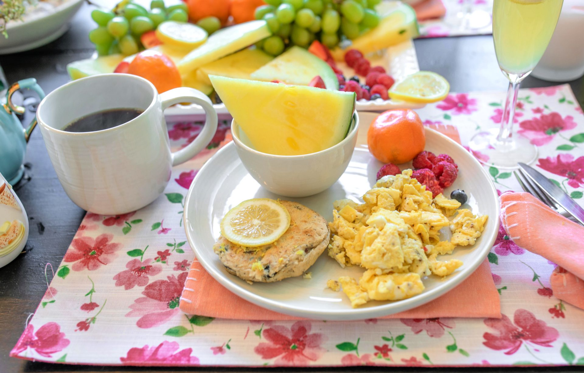 lemon berry pancakes gluten free
