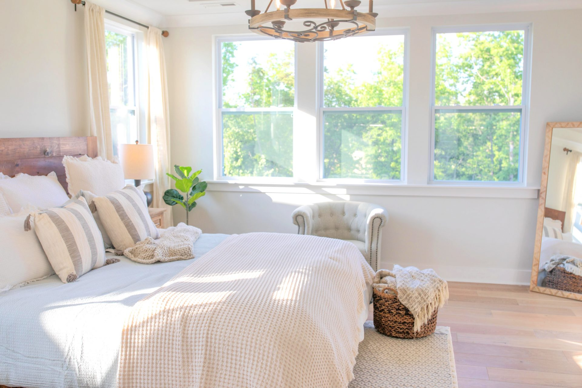 Master Bedroom Makeover A Cozy Cottage Vibe Part One Simply Taralynn