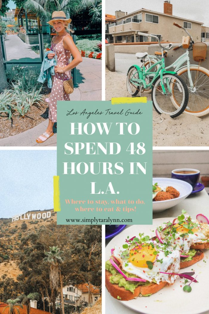 A Few Days in L.A.: Hiking, Healthy Foods Spots, & Beach Time