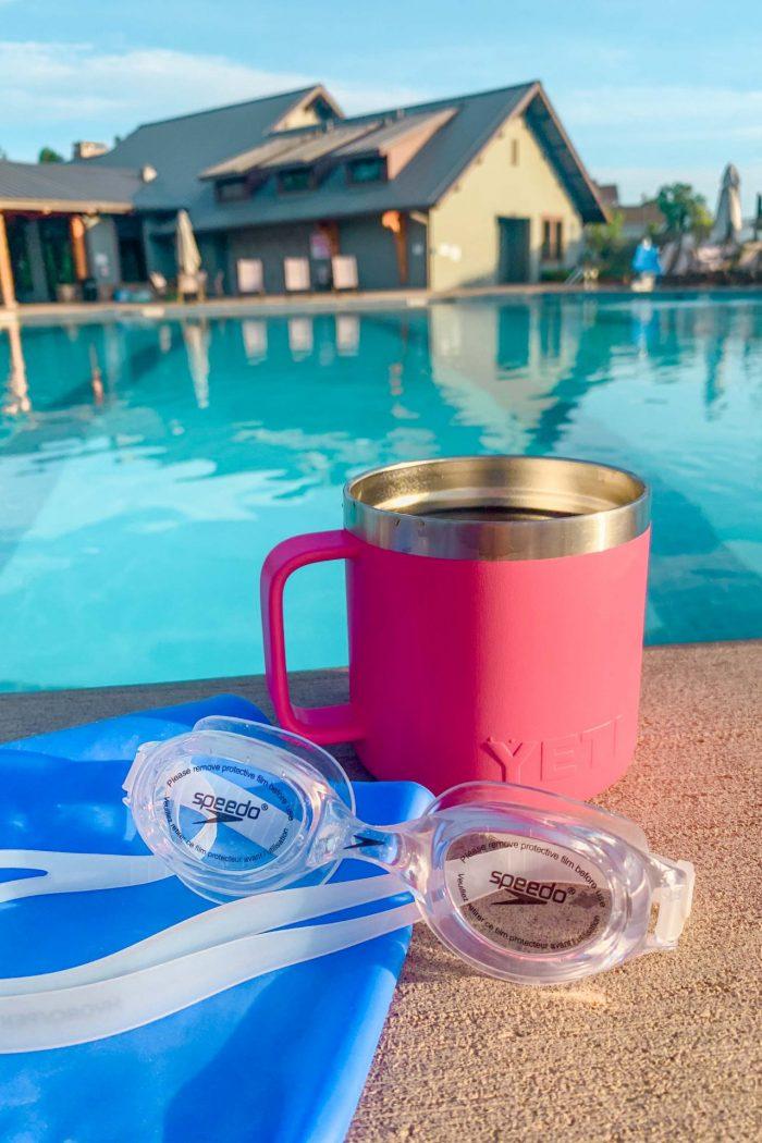 Summer Walks, Morning Lap Swim, Home Projects, & Food!