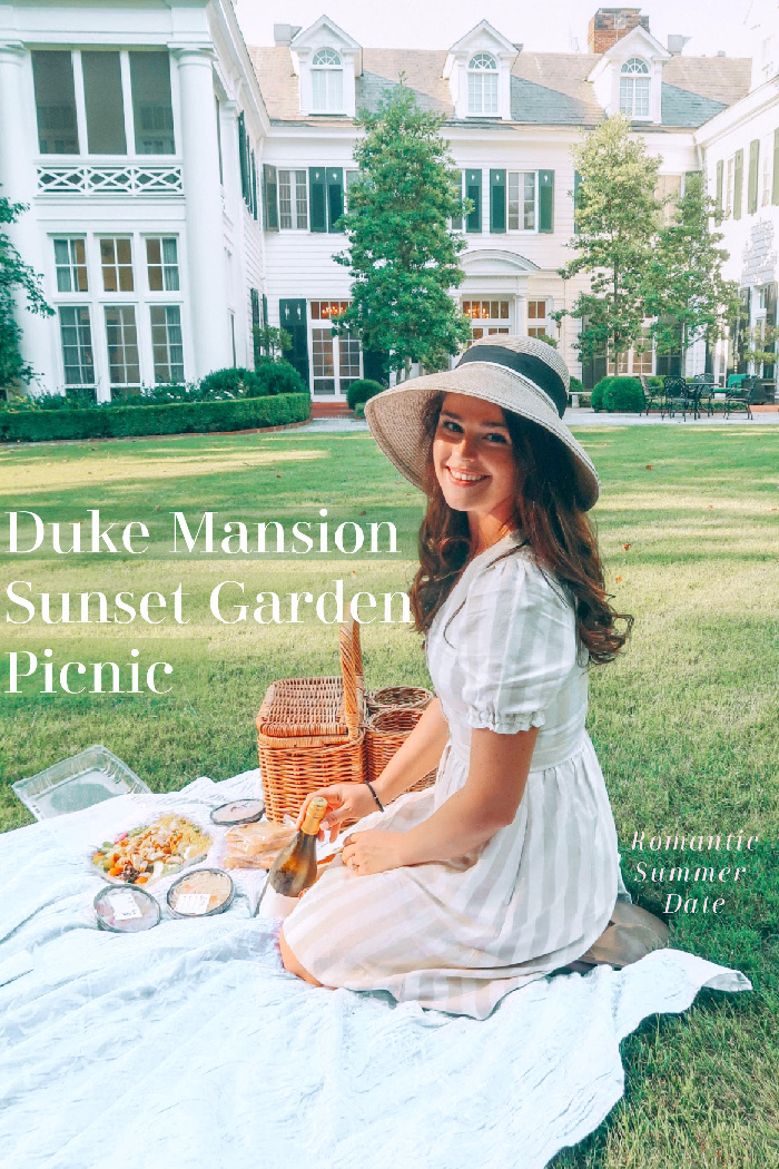 Date Night: Sunset Picnic in the Gardens at the Duke Mansion