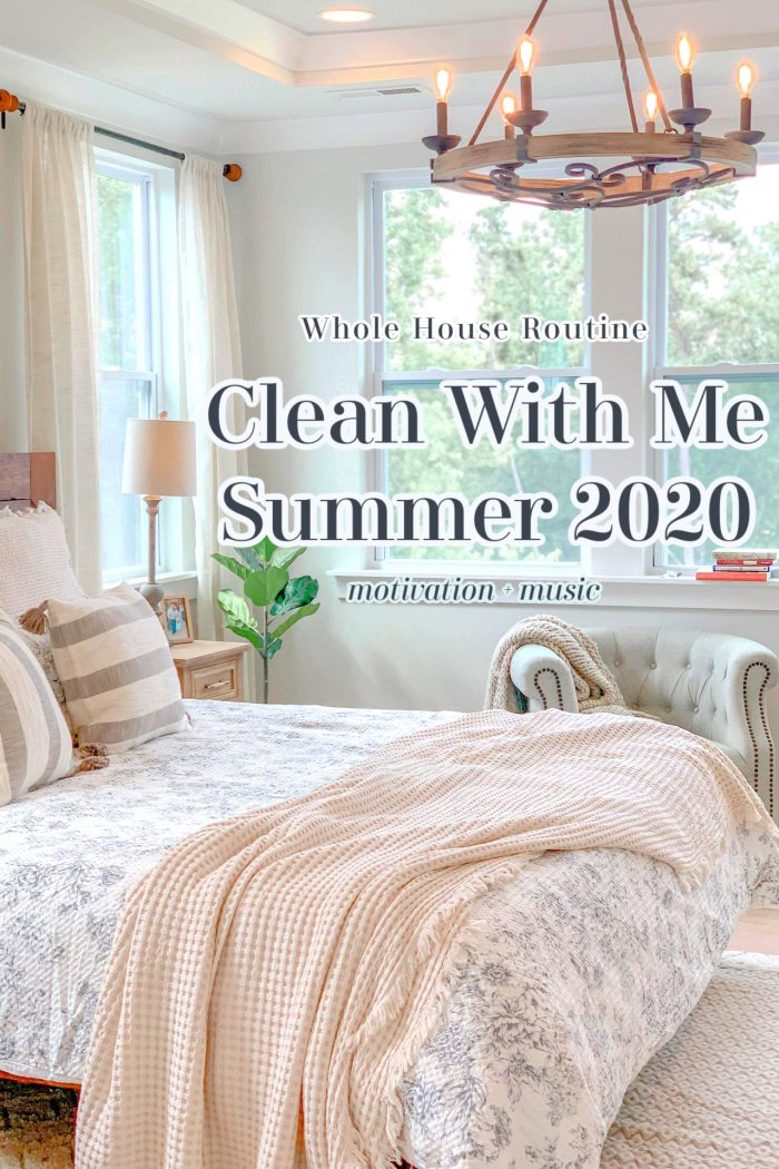 All-Day Summer Clean With Me Video | Motivation + Music