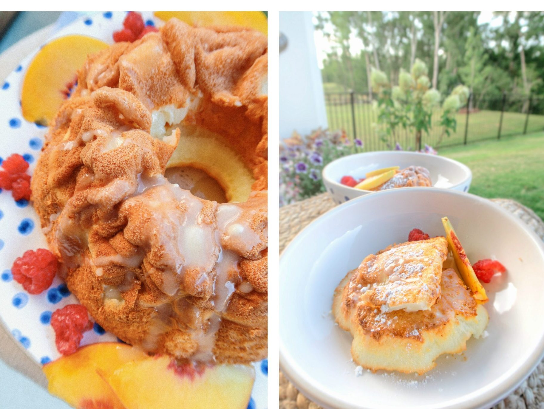 gluten free angel food cake summer picnic