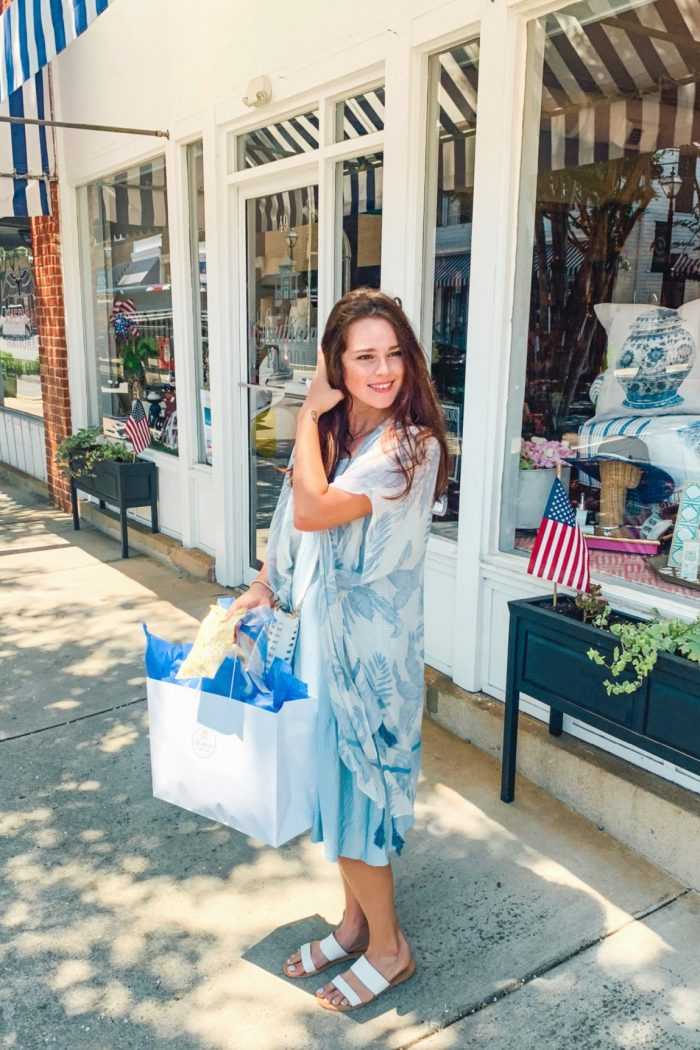 Summer Day Shopping & Coffee Downtown York South Carolina