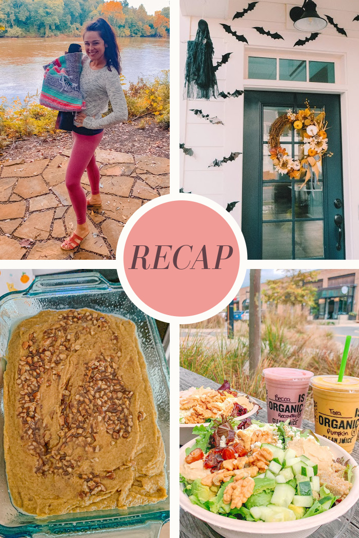 Cozy Fall Vibes, A Yoga Date, & Pumpkin Spice Baking!