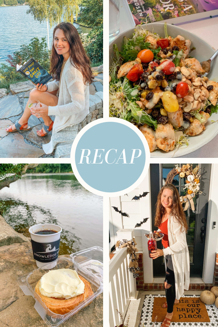 Recap: First day of fall, Sweat App, Food, and lots of reading.