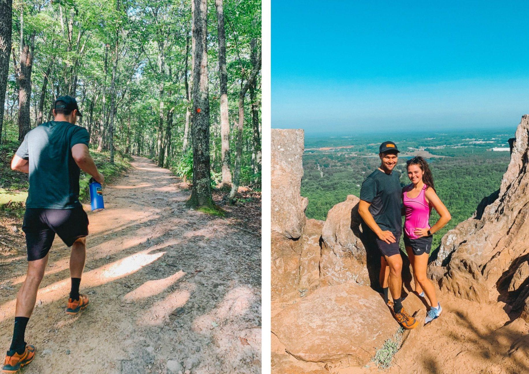 eight and sand, Charlotte, cut, brunch, clt, breakfast, brunch, hiking, southend , crowders mountain hike, pinnacle trail, hiking