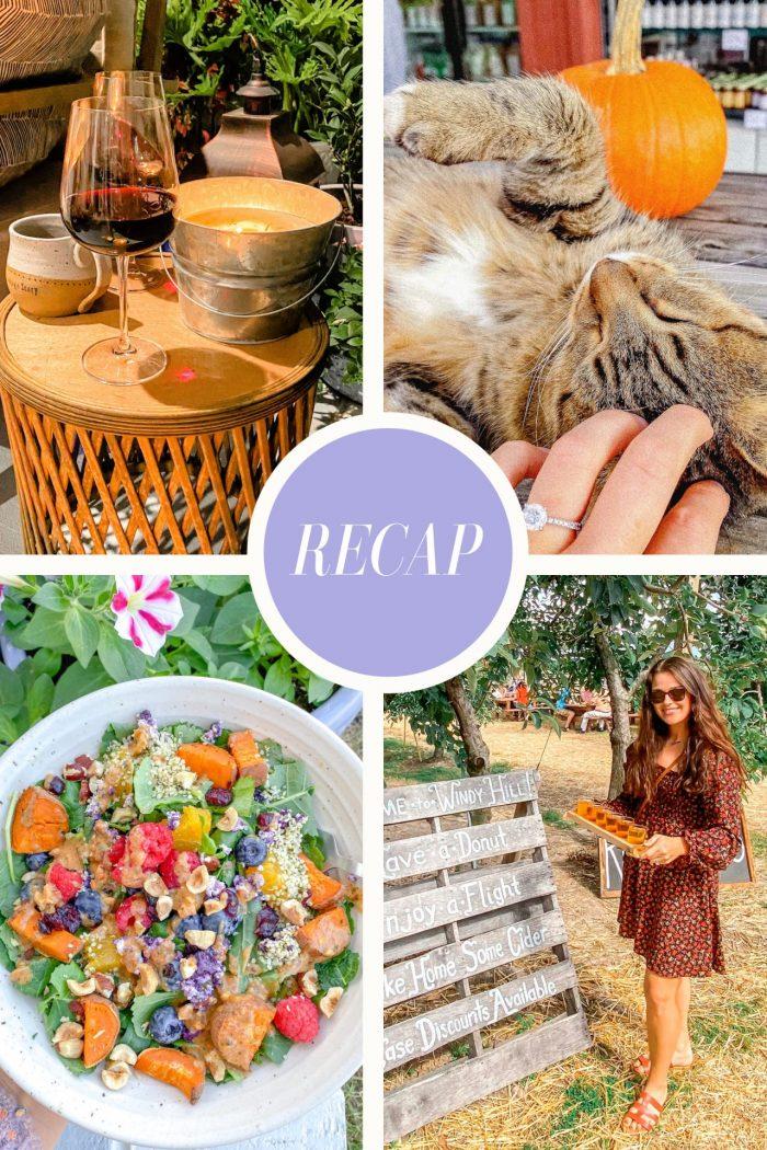 Recap Monday: Apple Orchard, Weekend Adventures & Food!