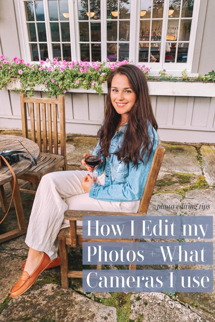 How I Edit My Photos & What Camera I Use for Blogging!