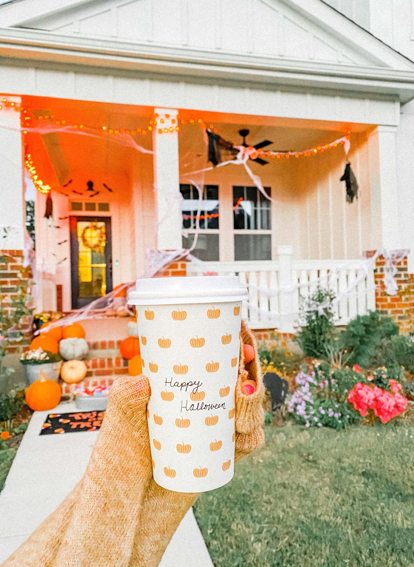 pumpkin, fall, halloween, October, trick or treat, fall week, recap blog