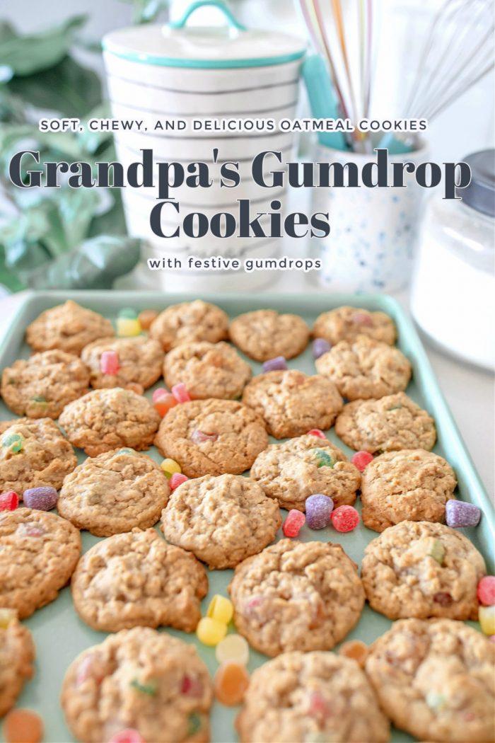 Grandpa's Gumdrop Cookies | Christmas Cookie Tradition