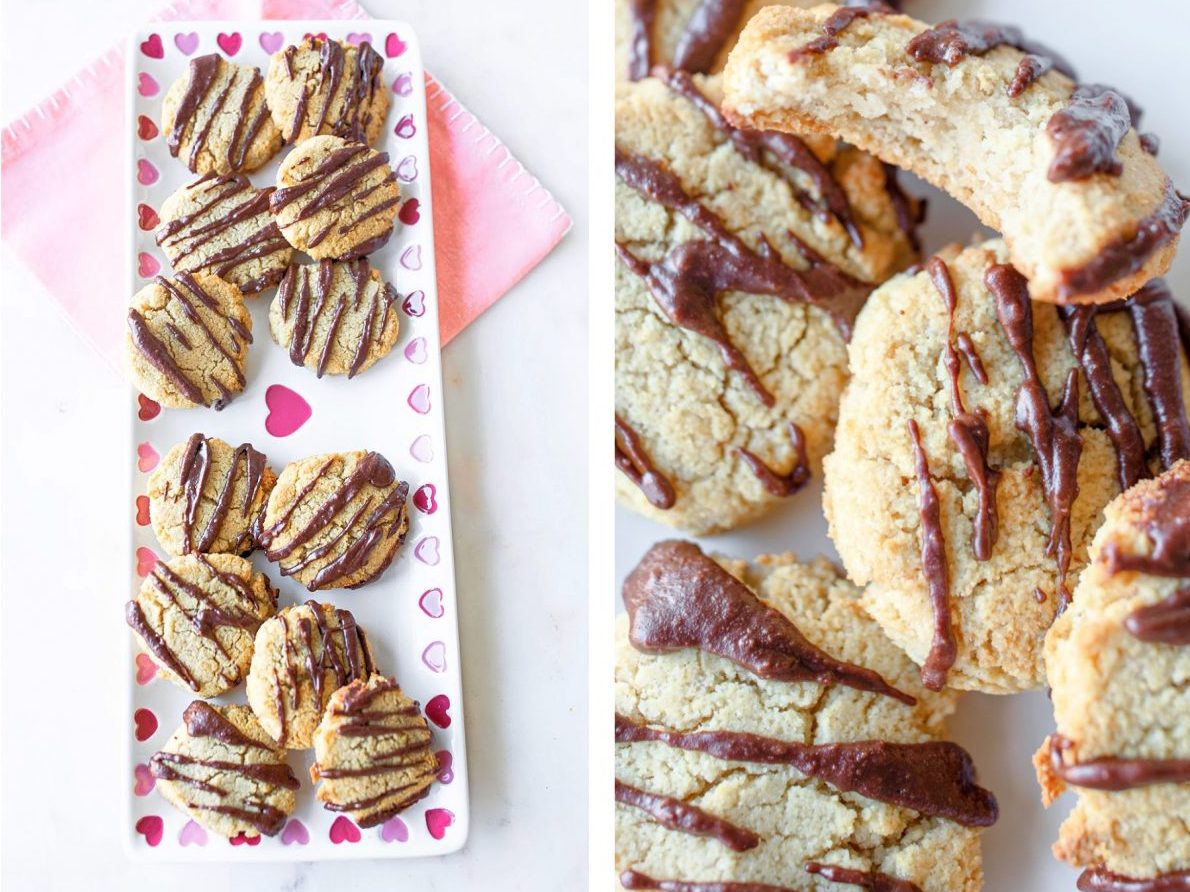 keto almond cookies, sugar free sugar cookies, low carb dessert, low carb cookies, gluten free, dairy free, keto diet, chocolate almond cookies, grain free, sugar free