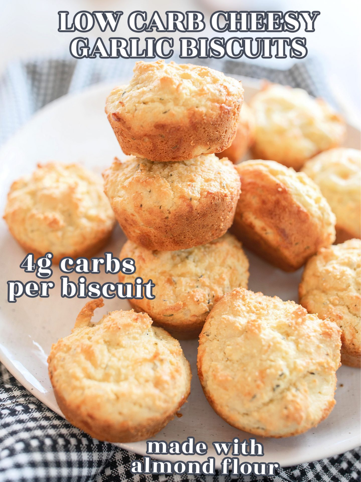 keto, garlic bread, low carb, biscuits, garlic cheese, biscuits, almond flour, no carb, healthy low carb bread, careless, keto diet, gluten-free, dairy-free, pizza