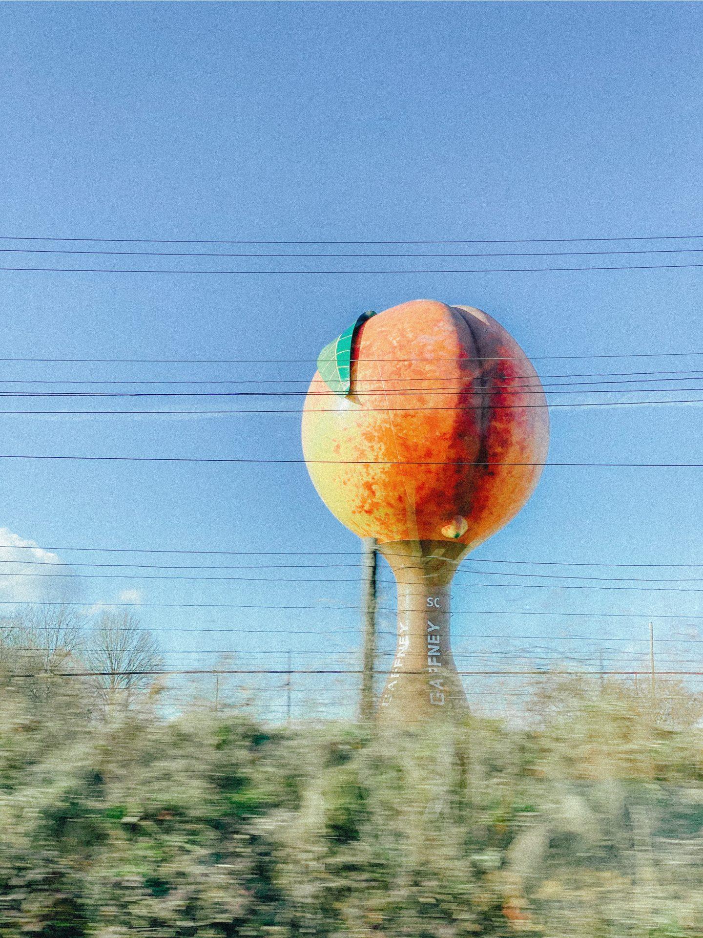 Gaffney South Carolina, Gaffney, peach, South Carolina, recap blog
