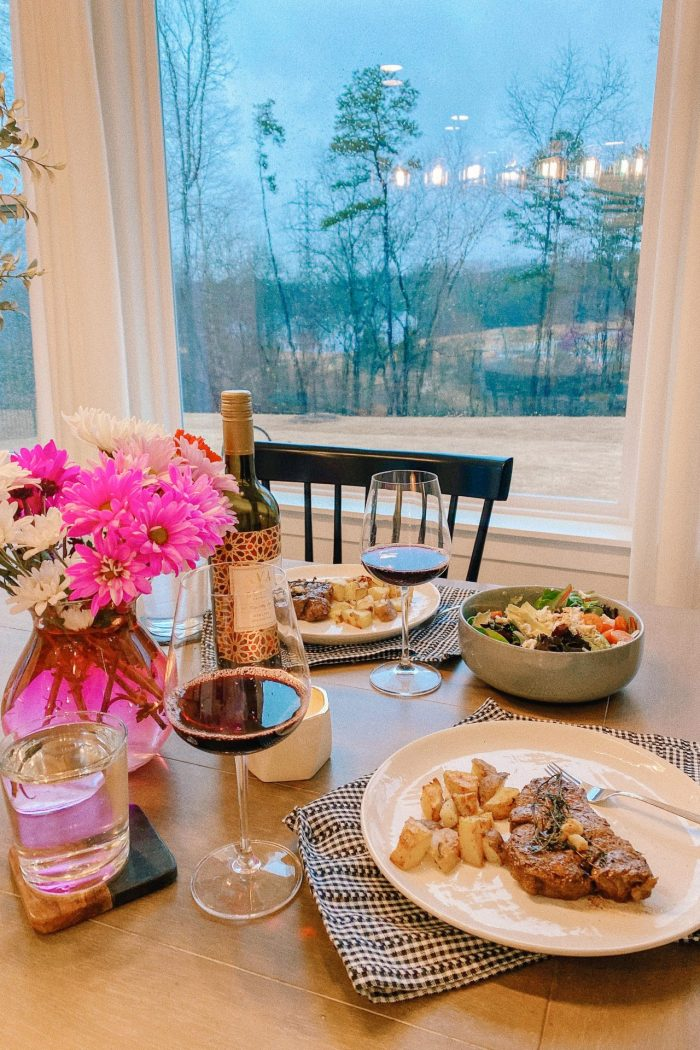Gardening and a Romantic Valentines Day Dinner Surprise