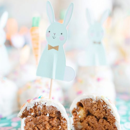carrot cake, cake pops, white chocolate, easter, spring, bunnies, holiday, recipe, carrot cake cake pops, fun holiday recipe, cute kid-friendly carrot pops, spring recipes, bunnies