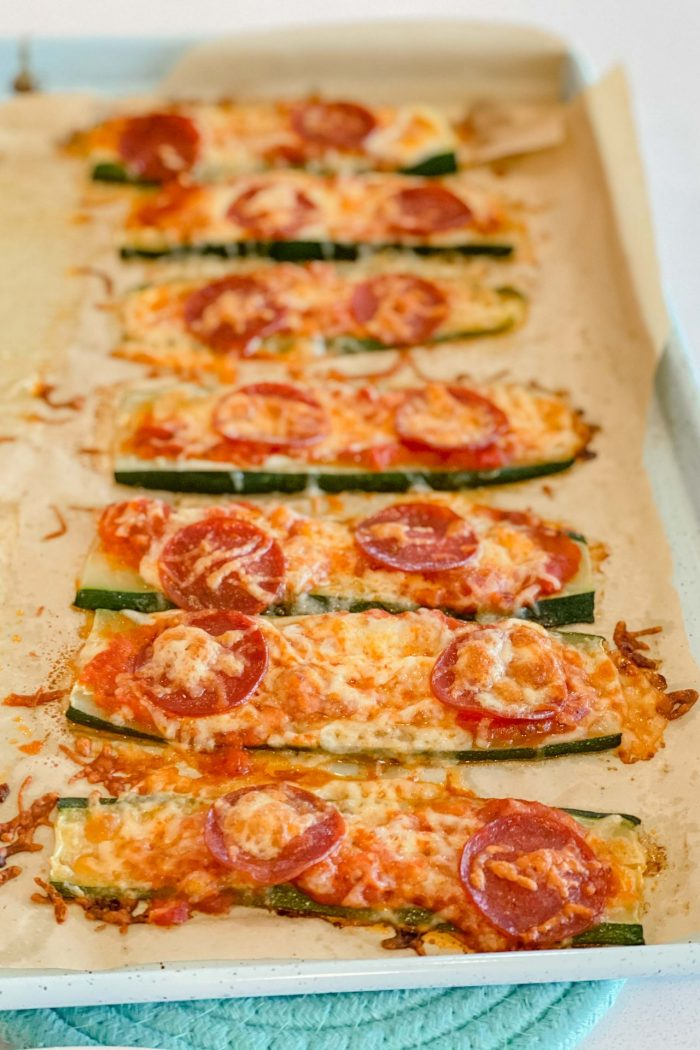 Zucchini Pizzas, Anyone? (Only 40-50 Calories)
