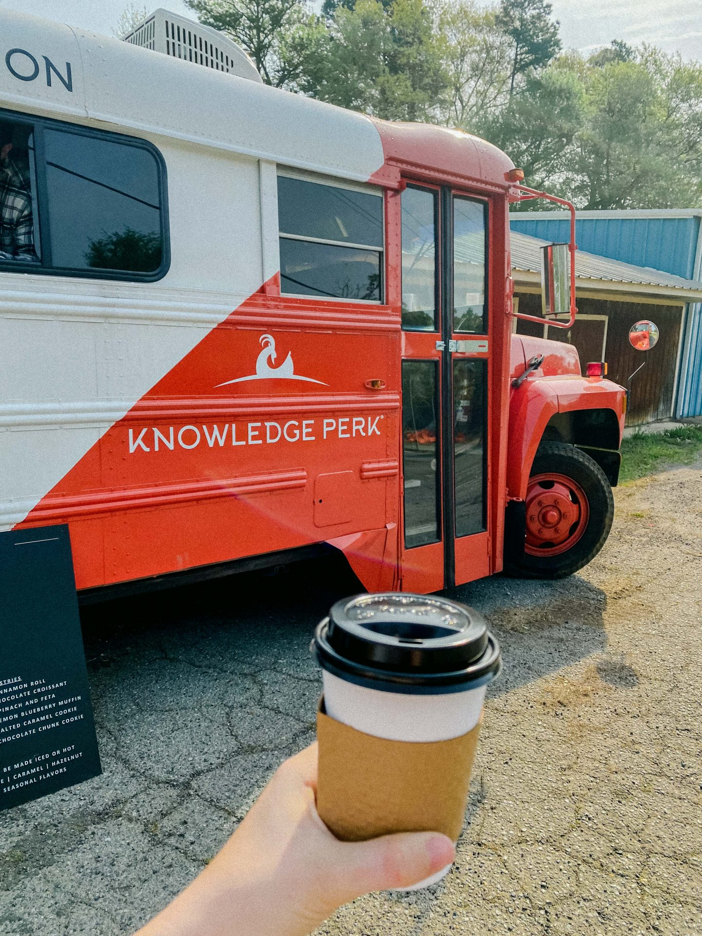 knowledge perk, bus, coffee, fort mill sc, South Carolina, rock hill sc, knowledge perk coffee
