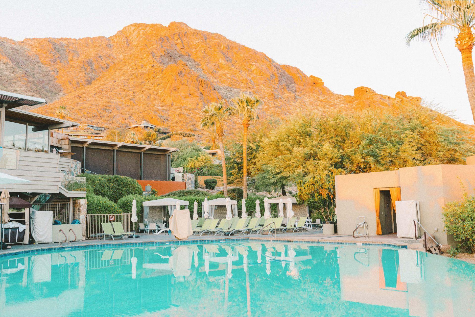 Sanctuary, resort, scottsdale Arizona, sanctuary resort scottsdale, travel guide, honeymoon, best place to stay, luxury, suite, pool