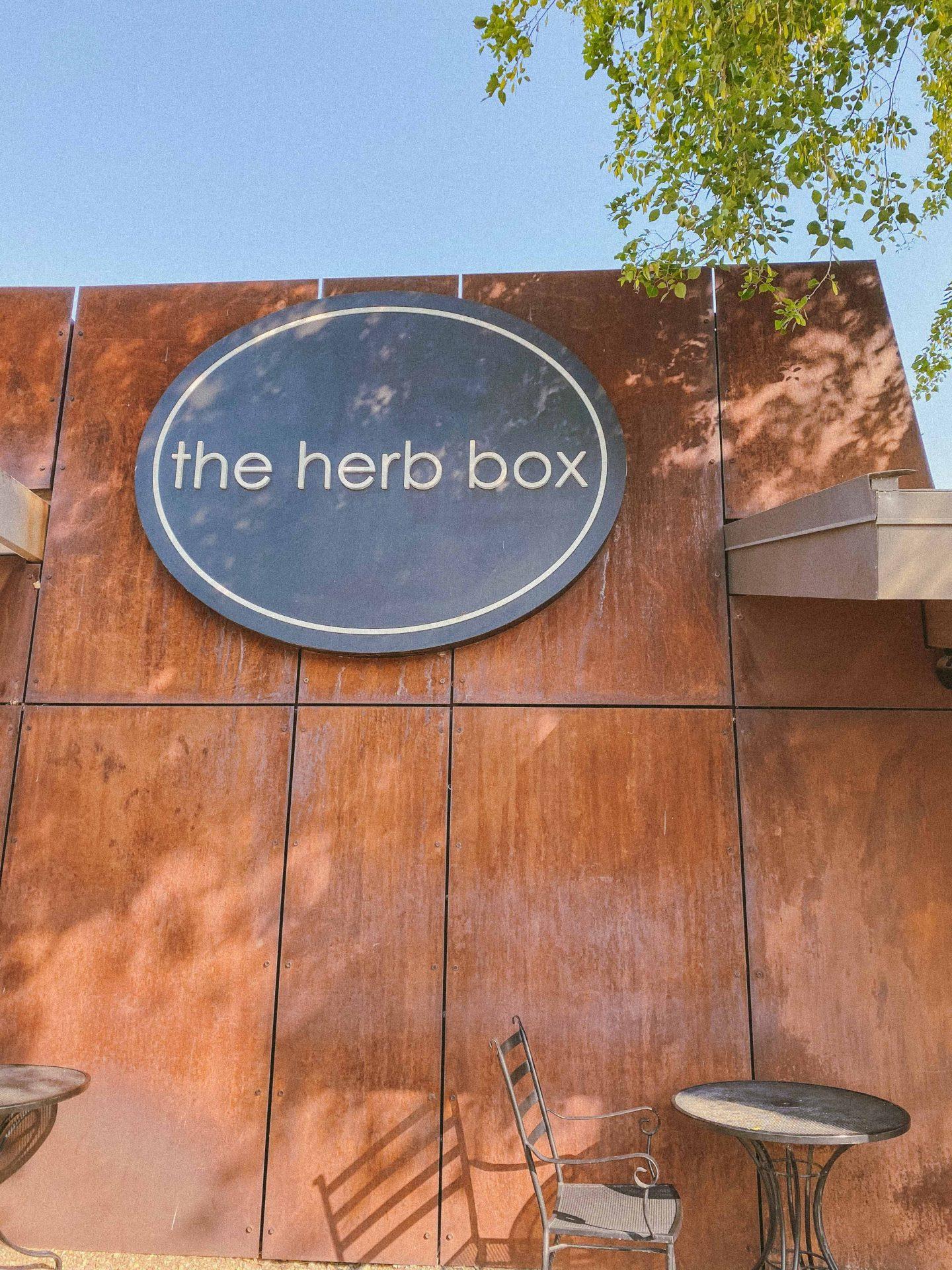 herb box, restaurants in Scottsdale, healthy bites in scottsdale, where to eat in scottsdale, scottsdale Arizona, gluten-free, best restaurants, old town scottsdale, where to eat in scottsdale, travel blog, travel guide to scottsdale Arizona