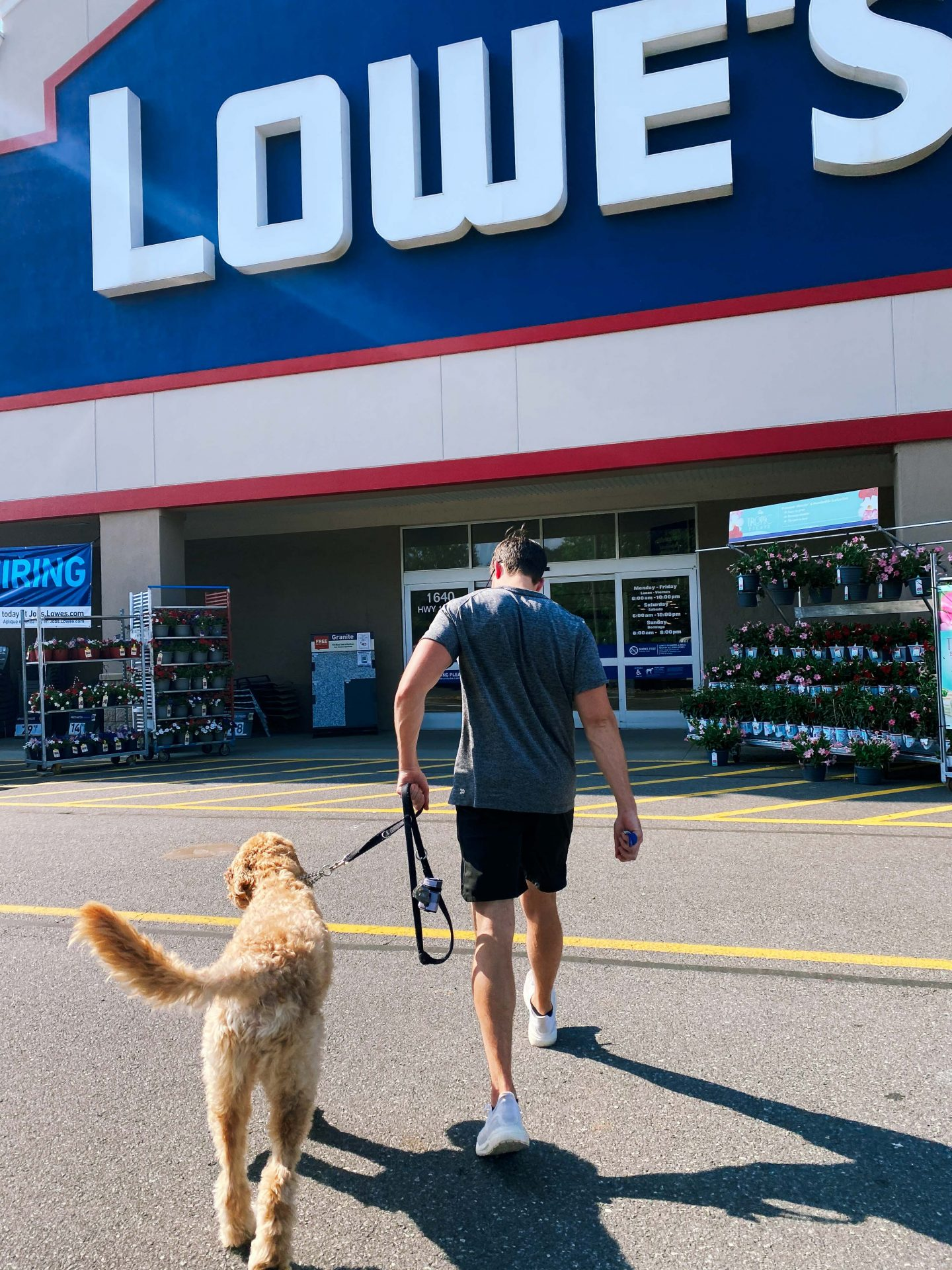 is Lowes dog friendly, stores that are dog friendly