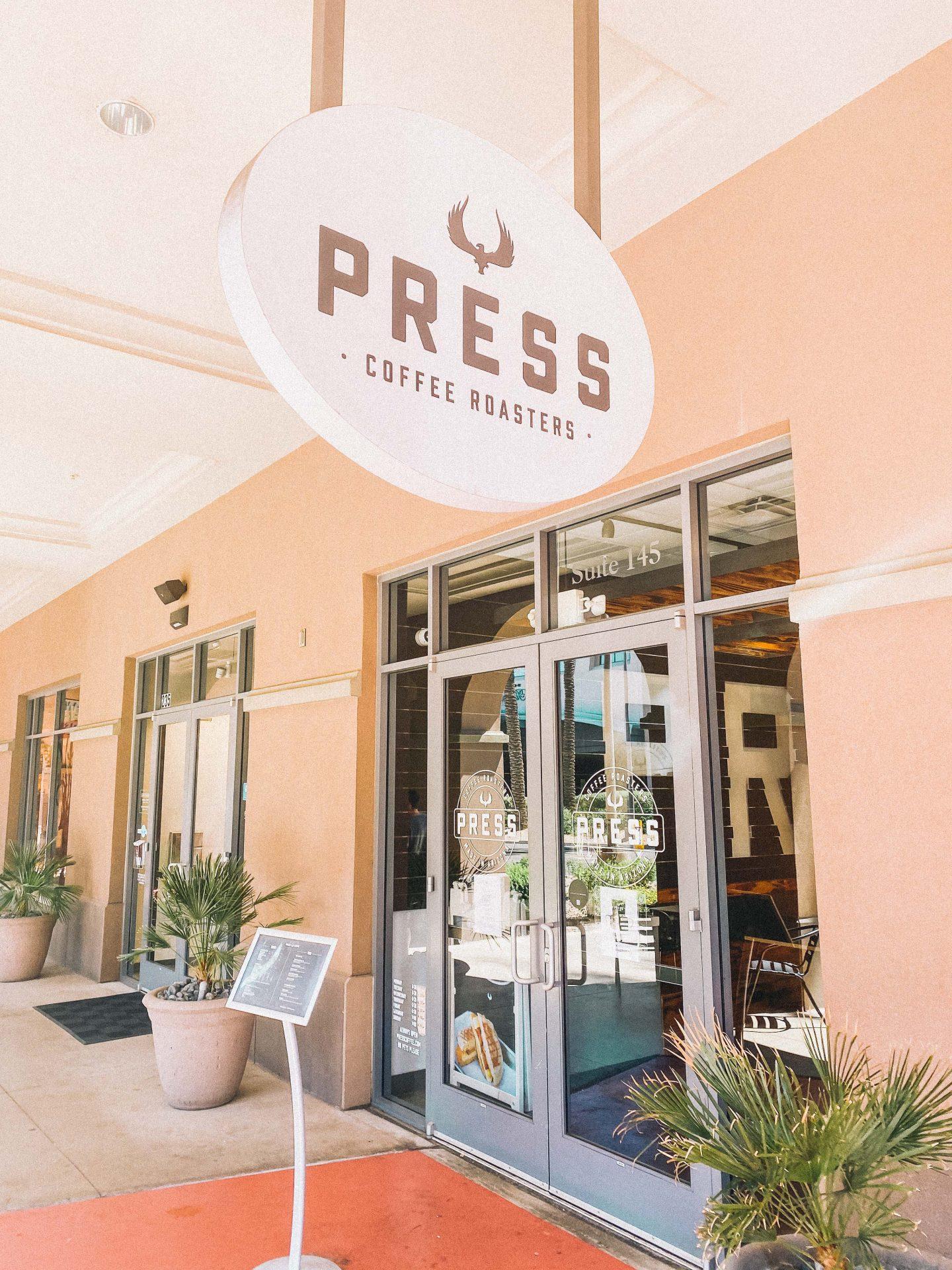 press coffee, scottsdale coffee shops, scottsdale arizona cafe