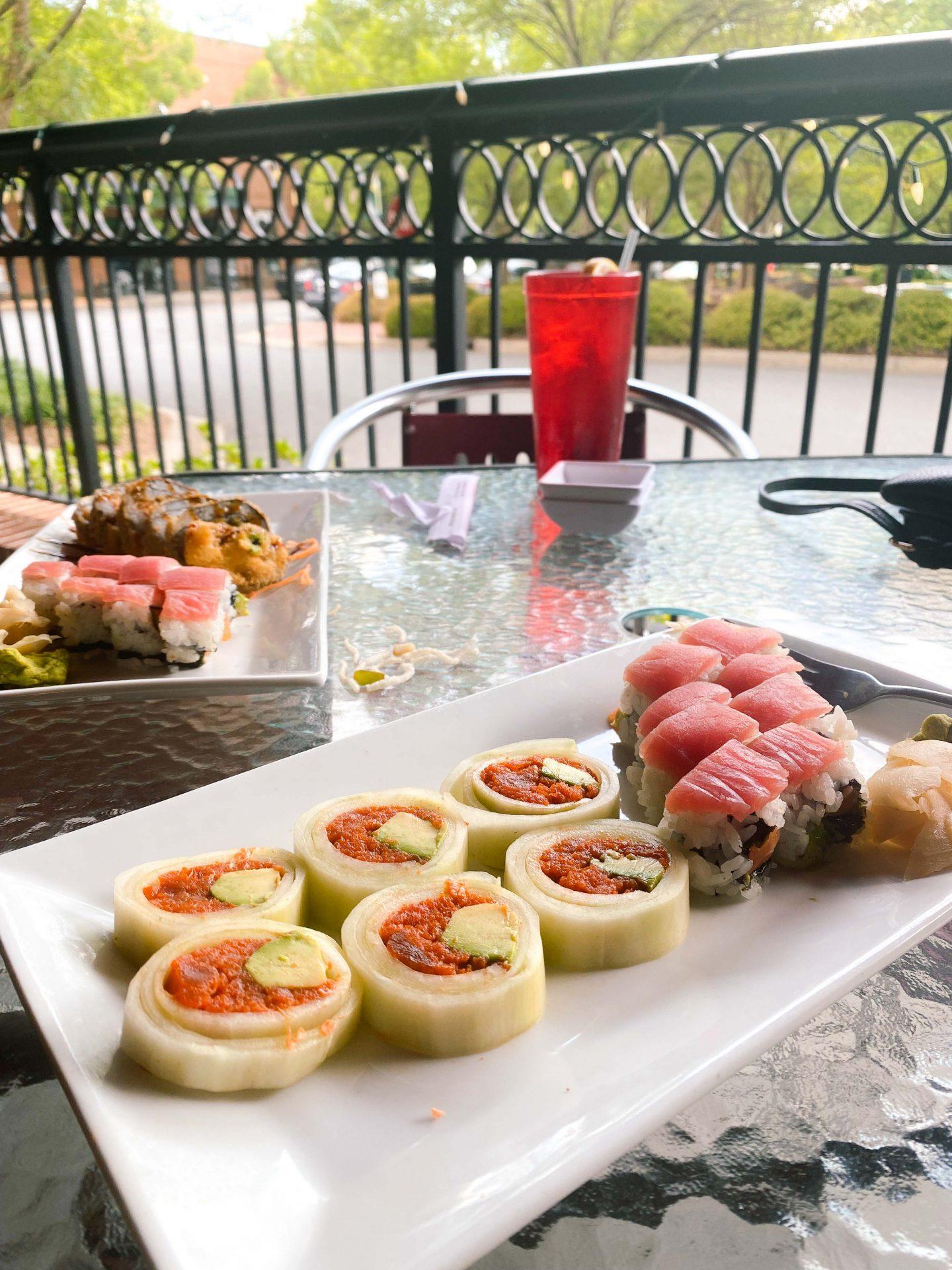 akahana fort mill South Carolina sushi