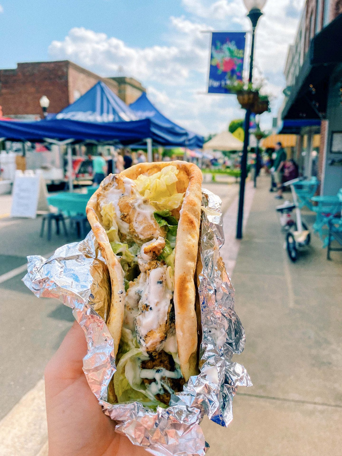 fort mill South Carolina, chickpeasy food truck, gelato, downtown fort mill, market, jam, weekends in fort mill, weekends on main