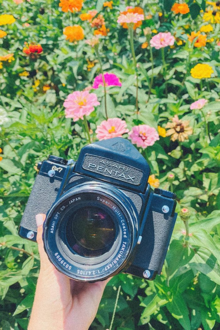 Comparing my cameras and testing my new film camera