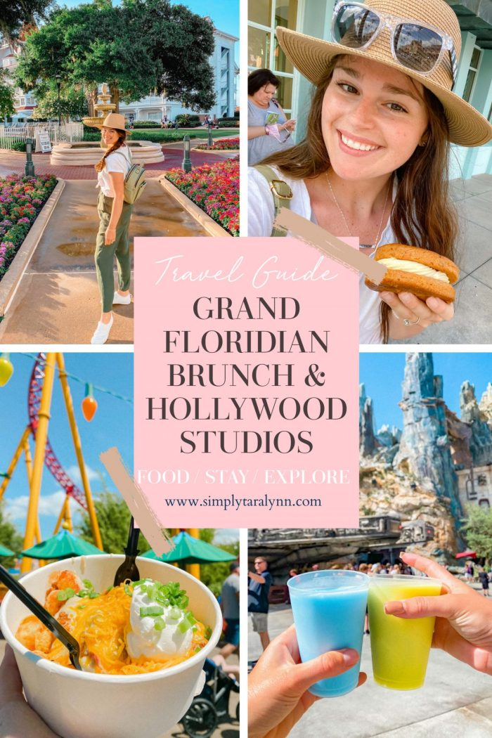 Brunch at Grand Floridian and a Hollywood Studios Afternoon