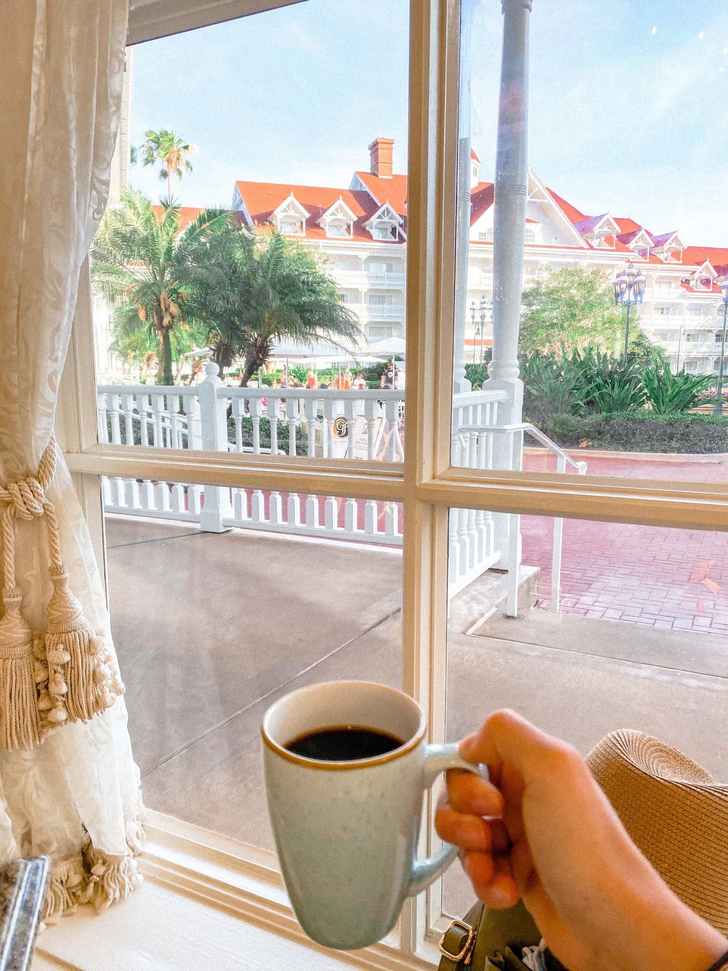 grand Floridian, walt disney world resorts, best resort disney, walt disney world planning, brunch walt disney world, coffee, healthy breakfast walt disney world,