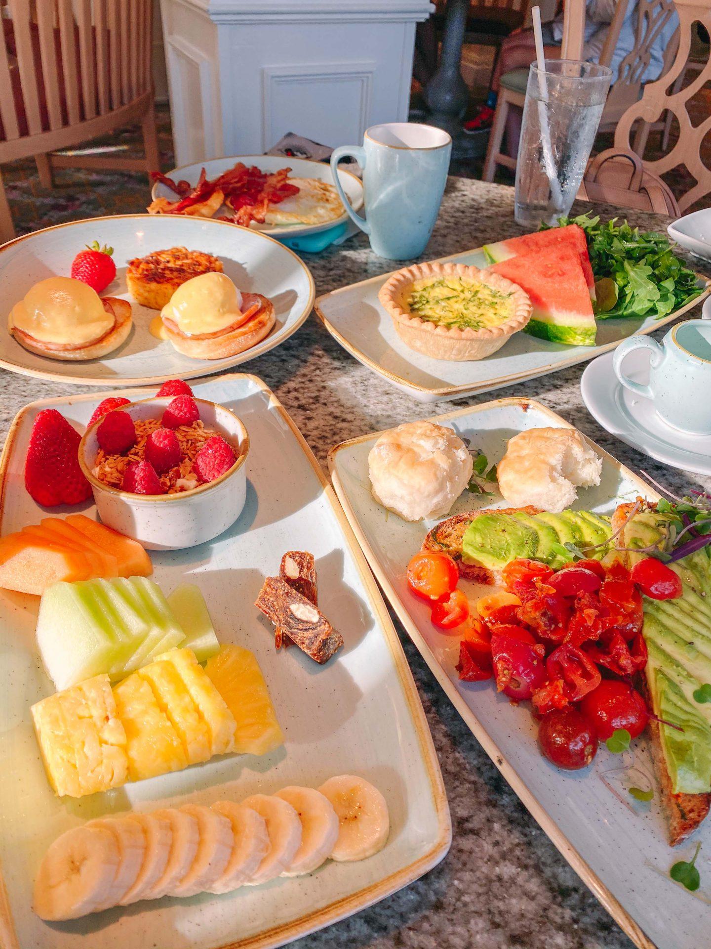 grand Floridian, walt disney world resorts, best resort disney, walt disney world planning, brunch walt disney world, coffee, healthy breakfast walt disney world, grand Floridian cafe,